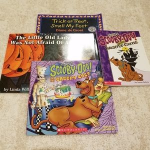 A Lot of 4 Children's Halloween Books